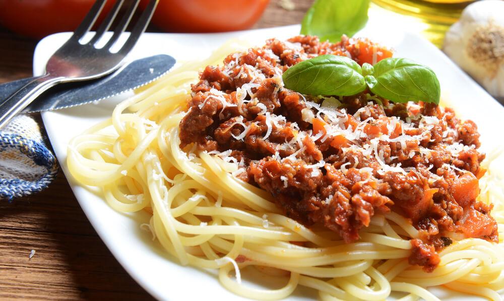 Vậy là cách là mì spaghetti sốt thịt bò đã xong rồi.