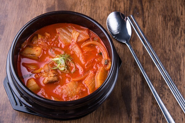 Canh Kimchi cải thảo - Kimchi-jjigae
