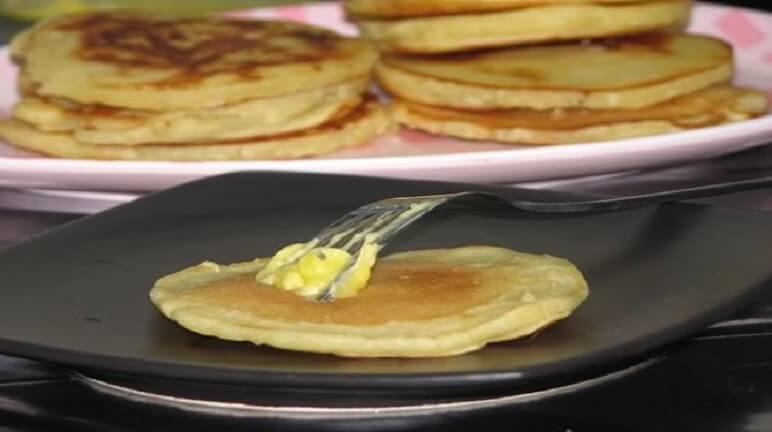 Cách làm bánh bột mì với trứng và sữa ngon đơn giản