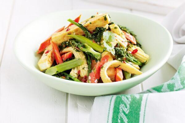 Thực đơn các món chay đơn giản dễ nấu