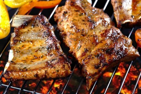 Sườn lợn nướng BBQ
