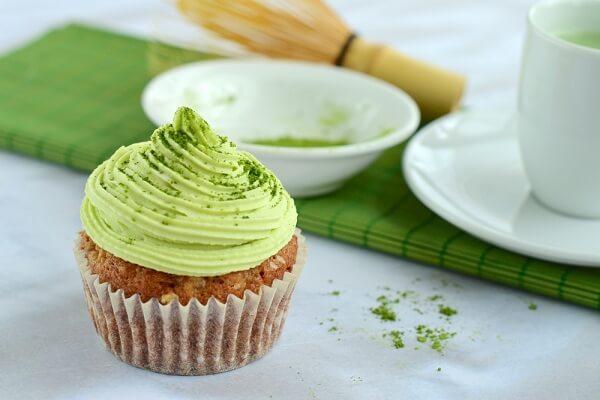 Cách làm bánh Cupcake trà xanh hấp dẫn