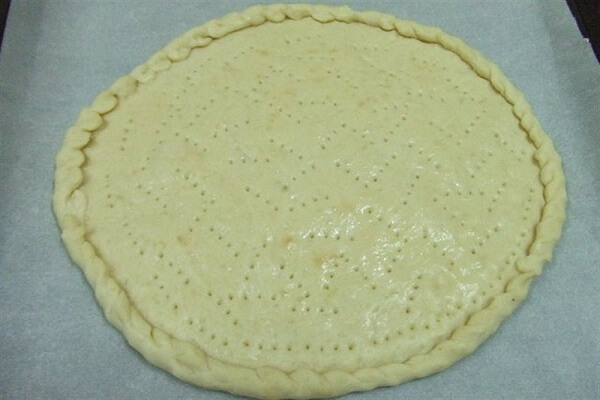 Mặt bánh pizza