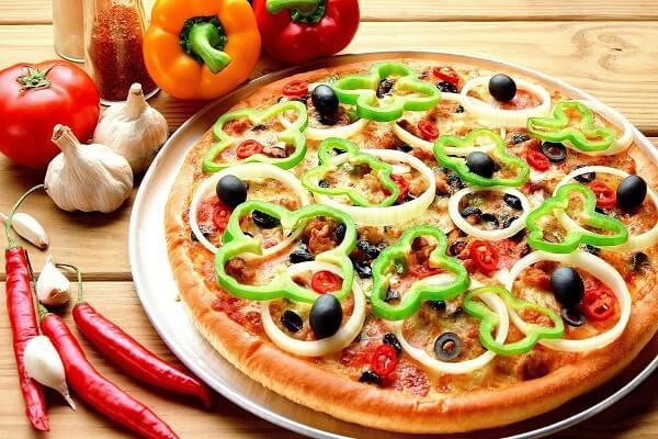 Công thức và các bước làm món bánh pizza bằng tiếng Anh