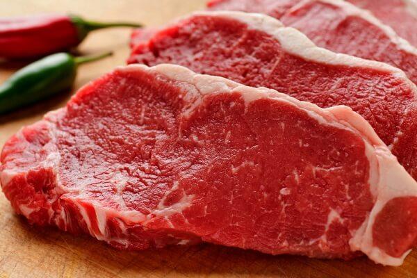 Thịt bò thăn: 250g