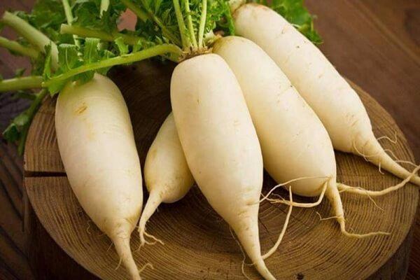 200g củ cải trắng
