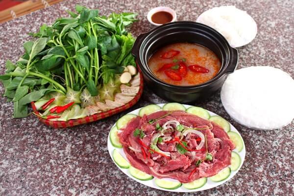 Tự tin với cách làm món thịt bò nhúng giấm ngon như nhà hàng