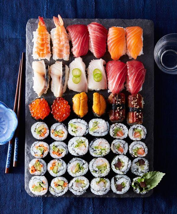 Nghệ thuật Sushi Nhật Bản truyền thống