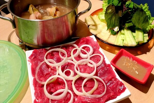 Cách Làm Món Bò Nhúng Dấm - Nấu Thịt Bo Nhung Giam Ngon