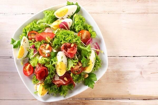 Cách Làm Salad (Xà Lách) Trộn Dầu Giấm Giúp Giảm Cân