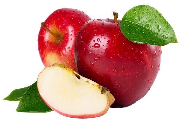 2 trái táo chín