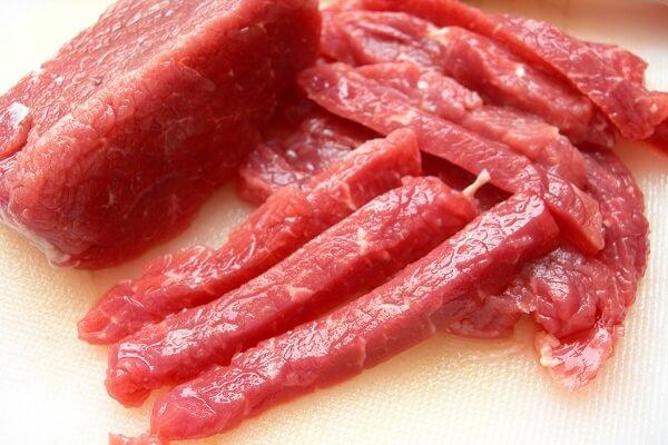 100g thịt bò