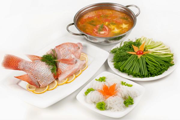 Cách nấu lẩu thái cá diêu hồng hấp dẫn, ấm áp ngày mưa