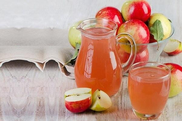 Soda với nước táo
