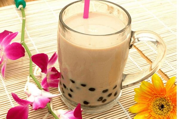 Ngày hè thêm thoải mái với trà sữa socola