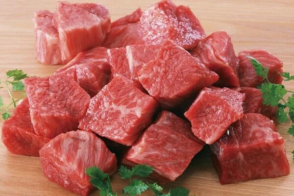 Thịt bò: 100g