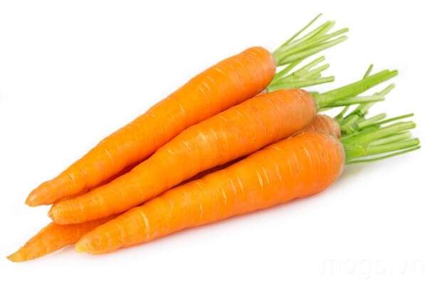 Cà rốt: 1 củ