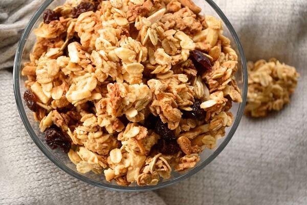 Granola là một loại ngũ cốc dinh dưỡng rất tốt cho sức khoẻ.