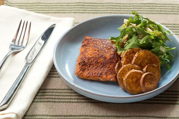 Món ngon mỗi ngày 2017 youtube - Cá hồi nướng khoai tây