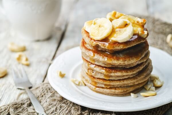 Pancake chuối dứa