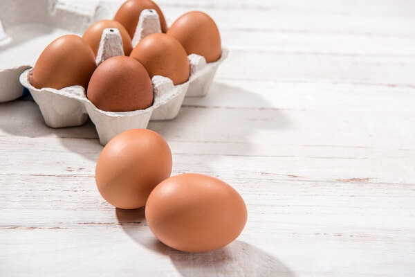 2-3 quả trứng gà