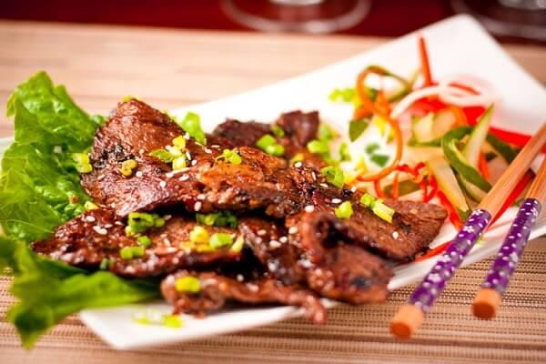 Thịt bò nướng kiểu Hàn