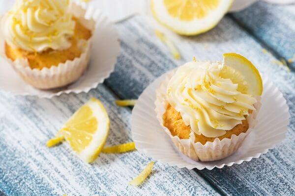 Cách làm bánh cupcake chanh thanh mát, lạ miệng