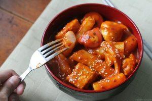 Hướng Dẫn Cách Làm Bánh Gạo Cay Hàn Quốc Tokbokki Ngon