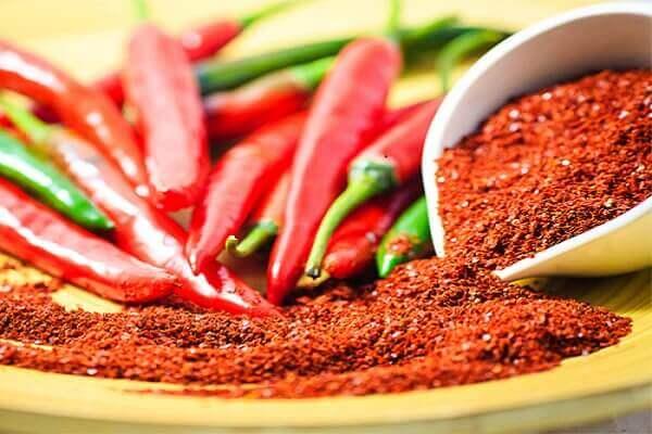 Ớt Gochujang, ớt bột Hàn Quốc