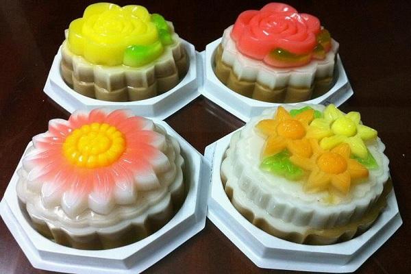 Cách làm bánh trung thu rau câu trái cây thơm ngon hấp dẫn