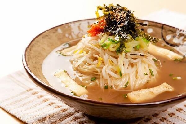 Milmyeon – Mì lúa mì có nguồn gốc từ Busan