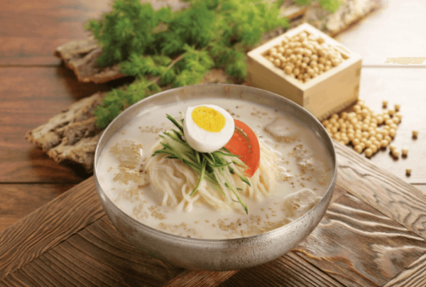 Kongguksu – Mì sữa đậu nành