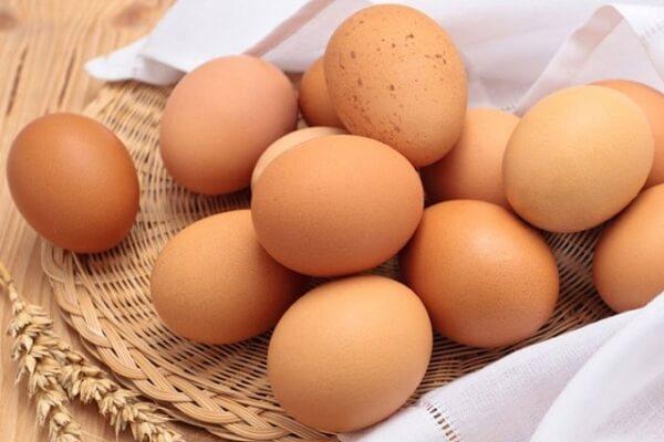 60g (1 quả) trứng.