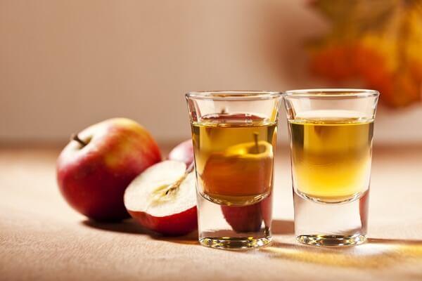 1 muỗng canh giấm táo