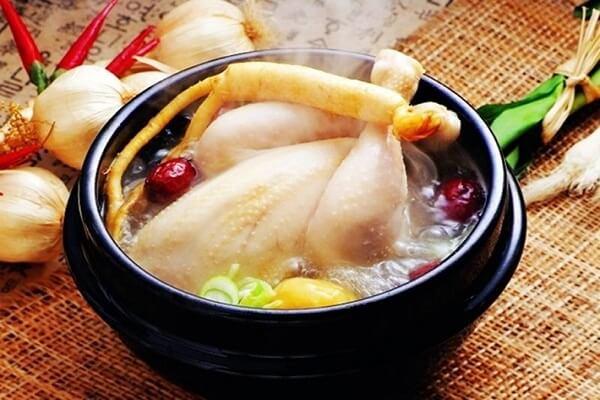 Cách Nấu Gà Tần Nhân Sâm Hàn Quốc - Ẩm Thực Hàn Quốc