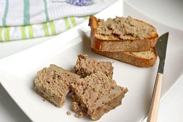 Pate gan heo là một loại thực phẩm bổ dưỡng