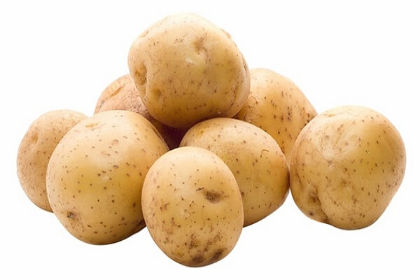 2 củ khoai tây