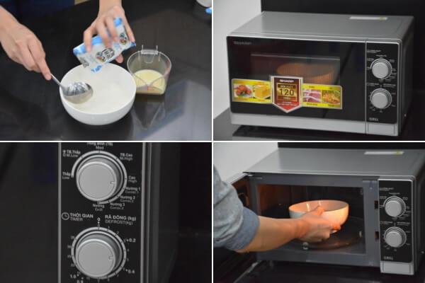 Đặt nồi sữa chua vào ủ 7 đến 8 tiếng