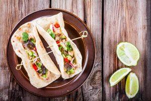 Cách Làm Món Tacos Cá Hồi Mexico - Ẩm Thực Châu Âu