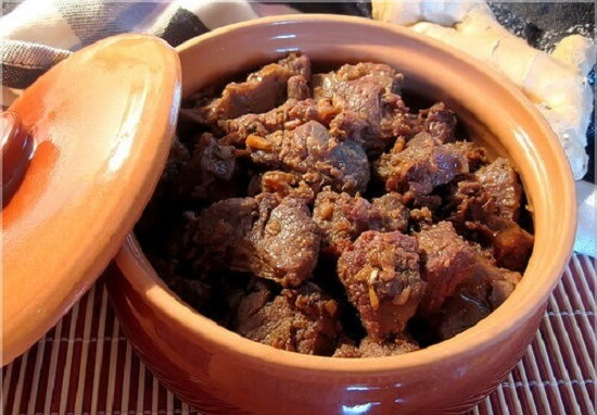 Công thức làm món thịt bò kho gừng tuyệt ngon