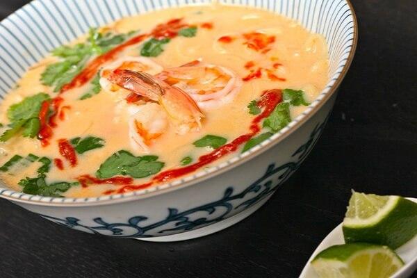 Mỳ nước kiểu Thái
