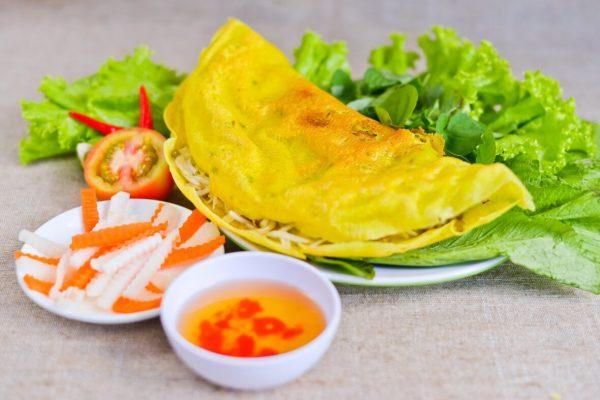 Bánh Xèo Nam Bộ - quán ăn ngon ở Hà Nội vào buổi tối