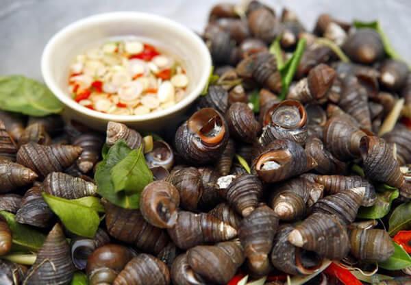 Một trong những thú vui của người sành ăn về đêm chính là ăn ốc
