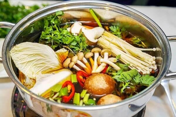 Cách Làm Lẩu Gà Nấu Nấm Đông Cô - Nước Lẩu Gà Ngon Nhất