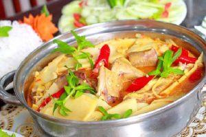 Cách Làm Món Vịt Nấu Măng Tươi Ngon Nhất - Thịt Vịt Xáo Măng