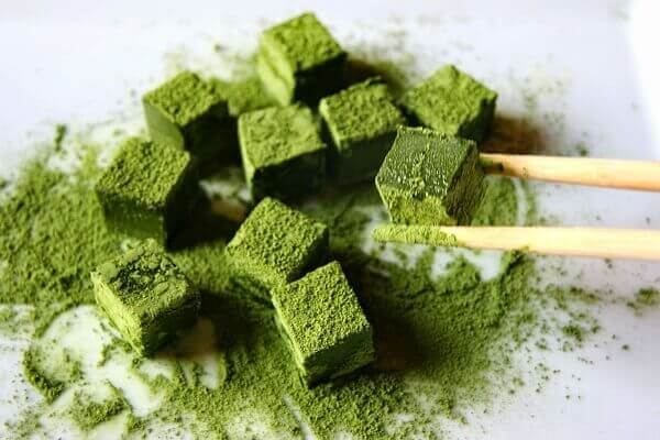 Bạn cũng có thể làm Nama Chocolate vị trà xanh