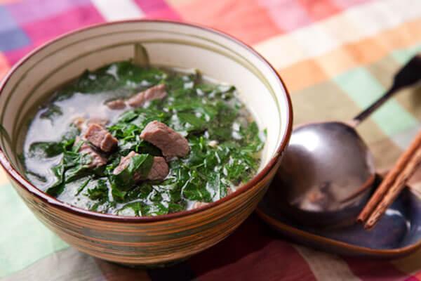 Cách Nấu Canh Rau Ngót Với Thịt Bằm - Canh Rau Bồ Ngót Ngon