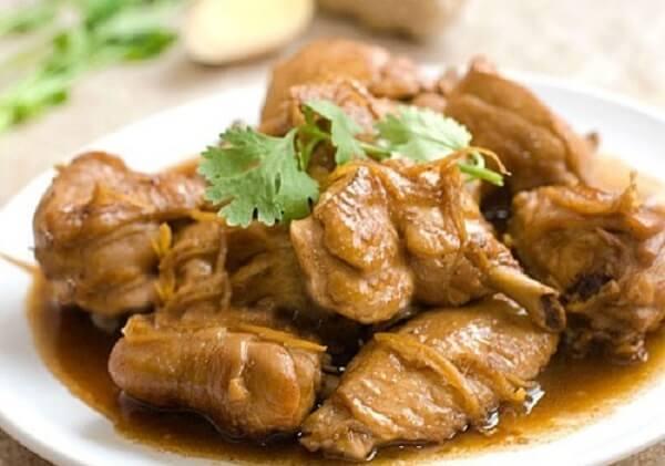 Với món thịt vịt kho gừng sả bạn có thể ăn đến hai bữa