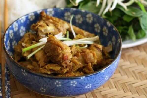 Món vịt giả cầy thường được dùng trong những bữa cơm gia đình