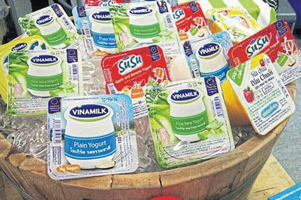1 hộp sữa chua có đường Vinamilk